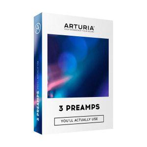 Arturia 3 Preamps (Serial)