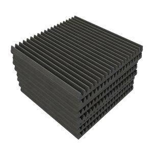 EQ Acoustics Classic Wedge 60 Tile Grey - 8 Units