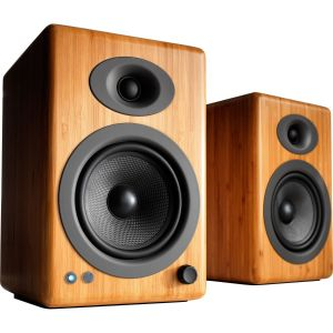 Audioengine A5+ Wireless Bamboo