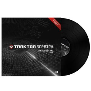 Native TRAKTOR SCRATCH CONTROL VINYL MKII Black