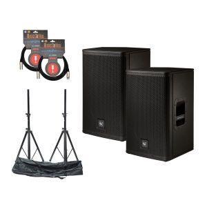 Electro Voice ELX-112P Set w/Stands & Cables