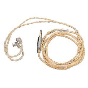 KZ Golden & Silver Cable