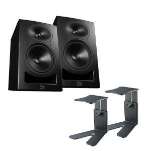Kali Audio LP-6 Stand Bundle Black