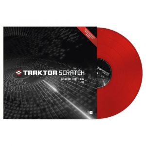 Native TRAKTOR SCRATCH CONTROL VINYL MKII Red