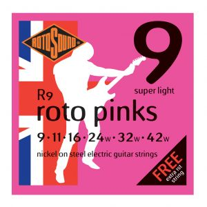 Rotosound Roto Pinks R9