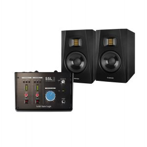 SSL 2 Studio Monitors Set