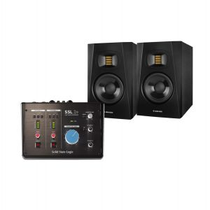 SSL 2+ Studio Monitors Set