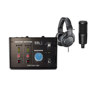 SSL 2 Headphones & Mic Set