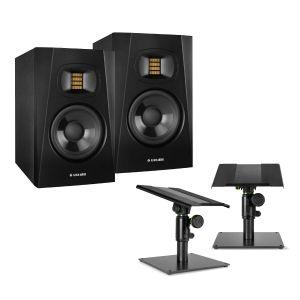 Adam Audio T-5V Stand Bundle