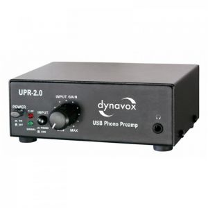 Dynavox UPR-2.0 USB-Phono Black