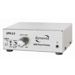 Dynavox UPR-2.0 USB-Phono Silver