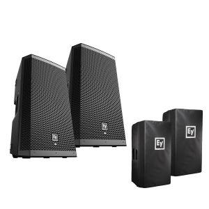 Electro Voice ZLX-12BT Set w/Covers