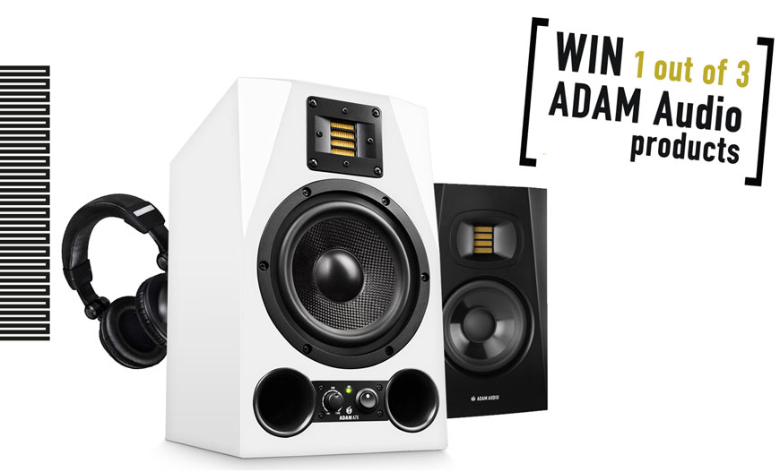 Διαγωνισμός Για Τα 20 Χρόνια ADAM Audio!