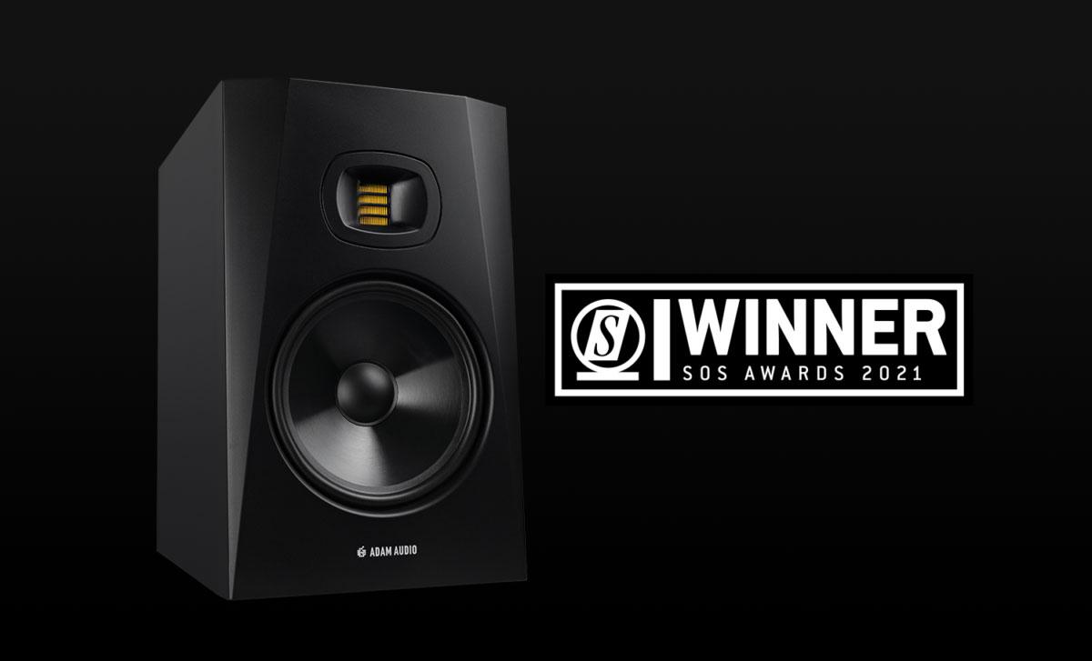 Adam Audio T8V – Το καλύτερο Studio Monitor ηχείο 2021 για τους αναγνώστες του Sound On Sound