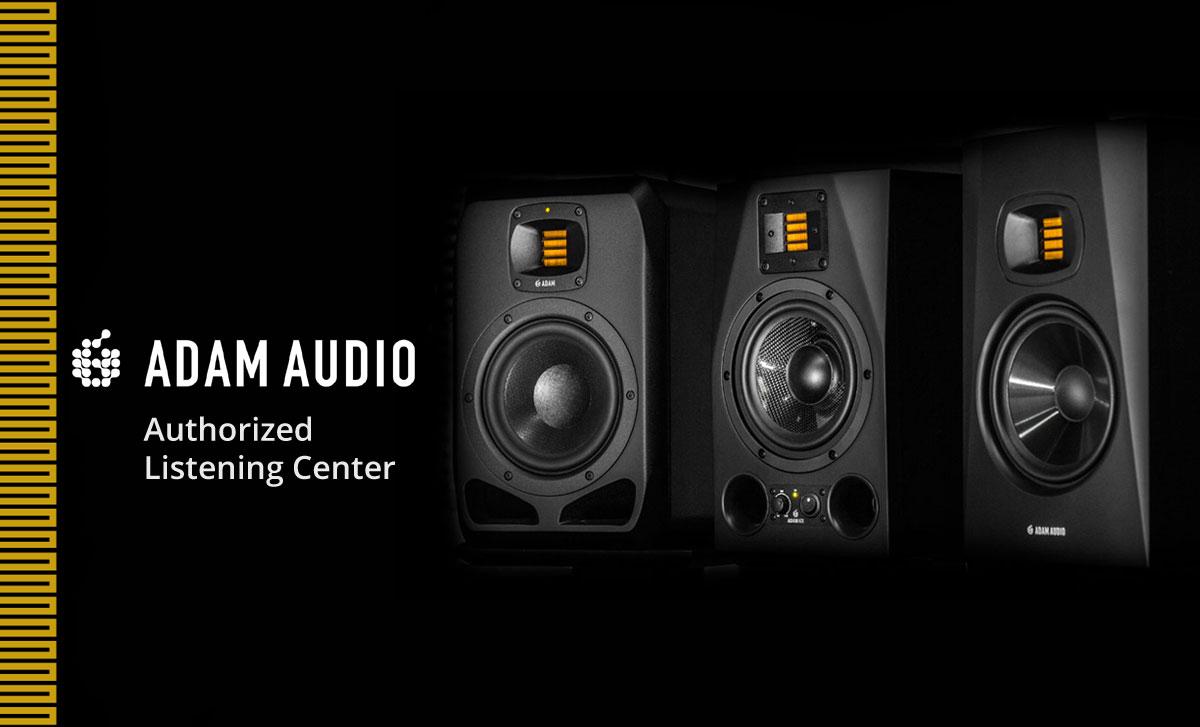 Prostage, the new Adam Audio Authorized Listening Center!