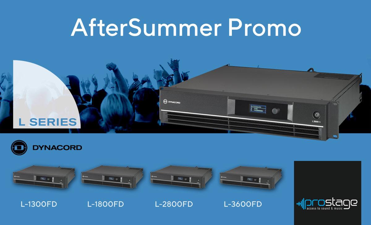 AfterSummer Dynacord Promo!