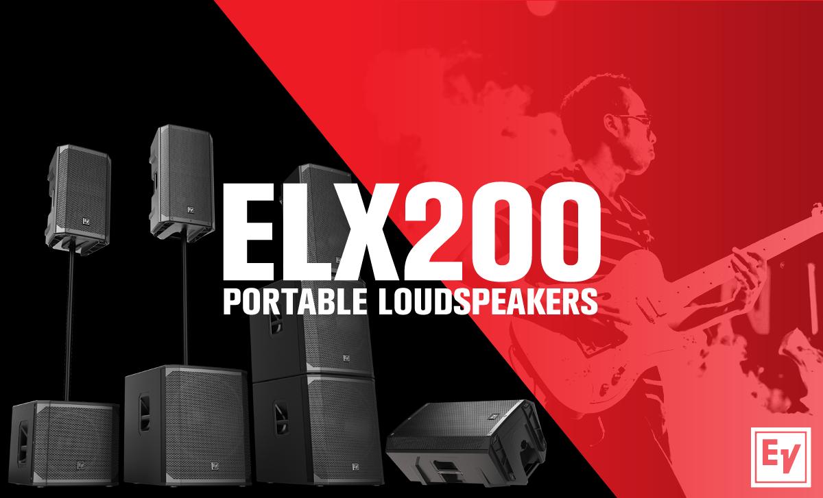 Electro Voice | Φορητά Επαγγελματικά Ηχεία ELX200