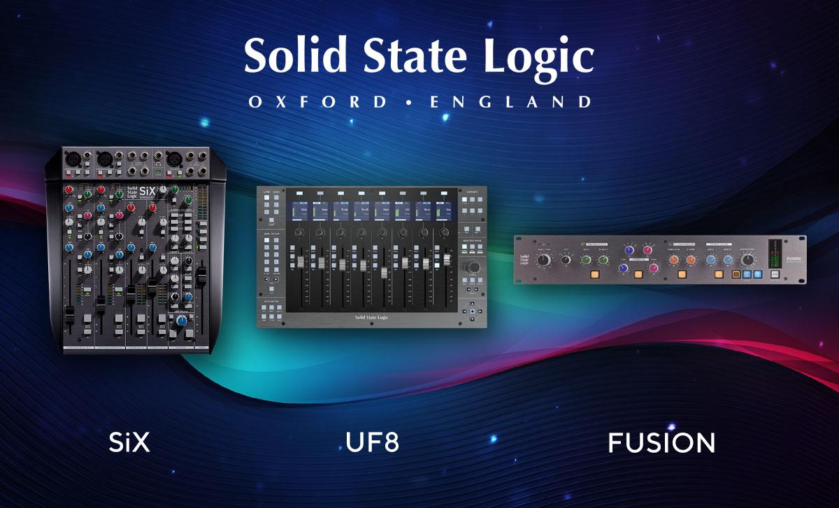 SSL Music & Audio Production - Live Demo @ Prostage!