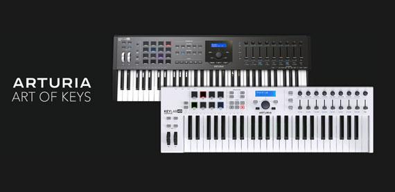 Arturia Midi Keyboards